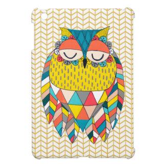 För ugglakonst IPAD för Aztec sparre modernt iPad Mini Mobil Skydd