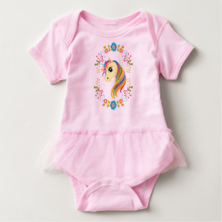 För Unicornbaby för ljus n gladlynt Bodysuit för T-shirts