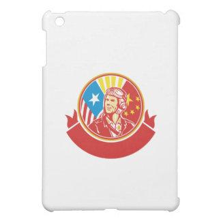 För USA för världskrig 2 cirklar den pilot- flagga iPad Mini Skal