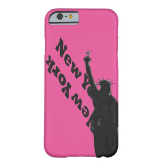 För USA NYC för rosor svart iphone case Barely There iPhone 6 Fodral