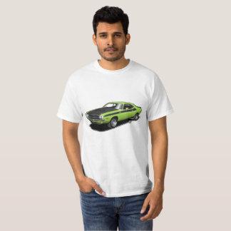 För utmanareklassiker för neon grön t-skjorta för tröja