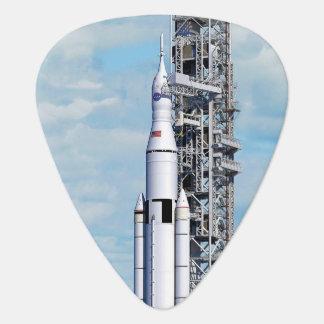 För utrymmebarkass för NASA SLS Launchpad för Plektrum