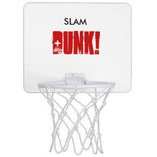 För väggbasket för SLAM DUNK mini- ring Mini-Basketkorg