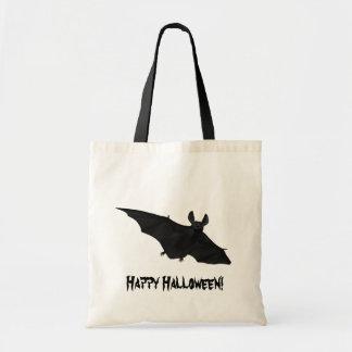 För vampyrfladdermöss för happy halloween läskig budget tygkasse