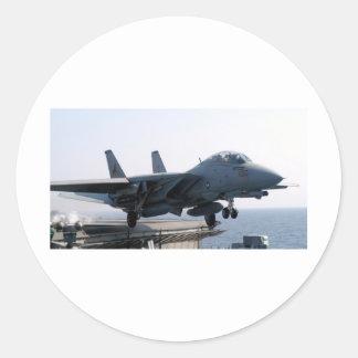 FÖR VÄRLDSBERÖMD FÖR F-14D VF-213 LEJON FÖR SVART RUNT KLISTERMÄRKE