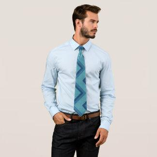 För vävdiamant för blått diagonal slipsar för