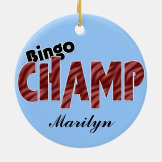 För Vegas för Bingomästaremästare prydnad stil Julgransprydnad Keramik