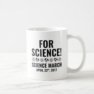 För vetenskap! kaffemugg