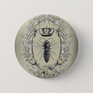 för victoriankrona för franskt land chic bi för standard knapp rund 5.7 cm