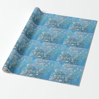 För Vincent Van Gogh för mandelblommarblått Presentpapper