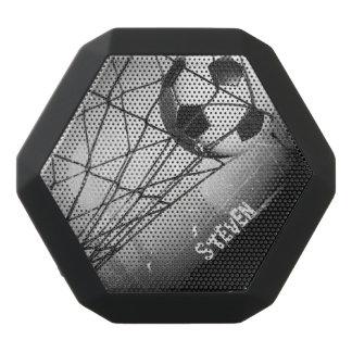 För vintageGrunge för personlig kall fotboll i mål Svart Bluetooth Högtalare