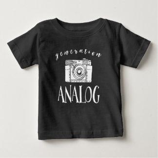 För vintagekamera för generation parallell t shirts
