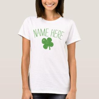 För vintageShamrock för personlig känd st patricks Tshirts