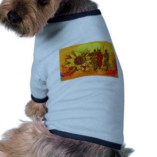 För vintagestil för afrika retro gåvor hund tröja