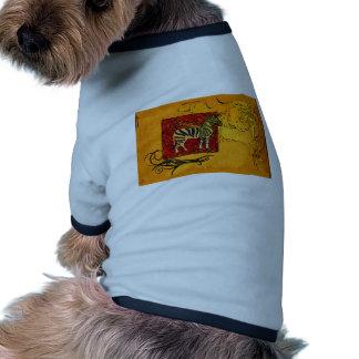 För vintagestil för afrika retro gåvor tröja för hundar