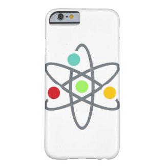 För vitiPhone 6 för färgrik Atom vetenskapligt Barely There iPhone 6 Fodral