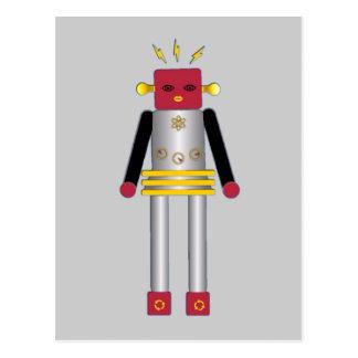 © för vykort för Martzkins pojkerobot M. 2012 Mart
