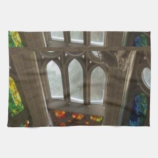 För Windows för vägg för Sagrada familiakyrka Kökshandduk