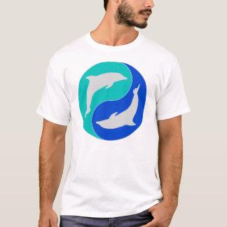För yang för Zendelfinyin design delfin T Shirts