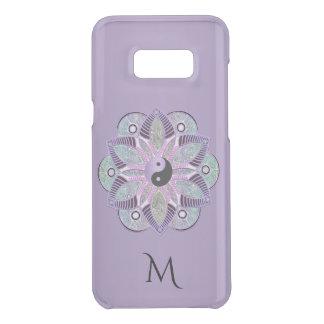 För Yin Yang för lavendel purpurfärgad Mandala för Uncommon Samsung S8 Plus Skal