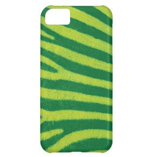 För zebra tryckiPhone 5 för limefrukt grönt fodral iPhone 5C Fodral