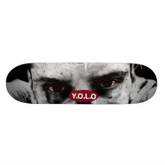 """för ZombieSkateboard för 8 1/2"""" Yolo design för Skate Board Deck"""