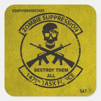 För ZombieTF för officiell 147. klistermärke för