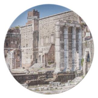Fora av Augustus är en av de imperialistiska 3na Dinner Plate