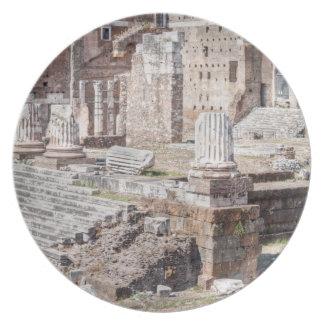 Fora av Augustus är ett av de imperialistiska Tallrik
