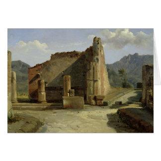 Fora av Pompeii Hälsningskort