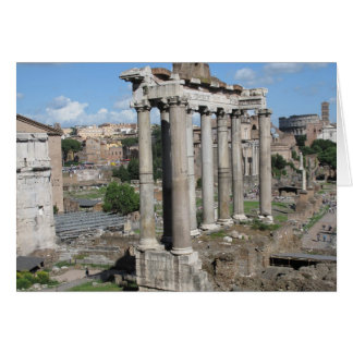 Fora Romanum Hälsningskort