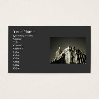 Förädlad arkitektur för elegant visitkort