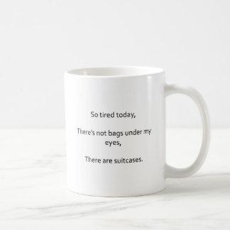 Föräldra- TirednessHaikumugg Kaffemugg
