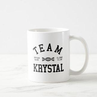 Föräldralöst svart lag Krystal Kaffemugg