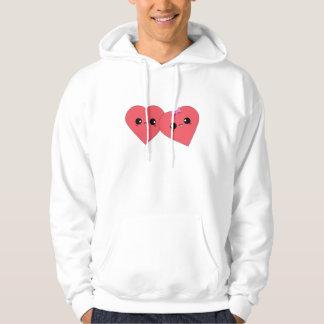 Förälskad Hoodie för gulliga Kawaii älsklingar