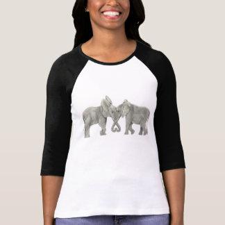Förälskade elefanter tröja