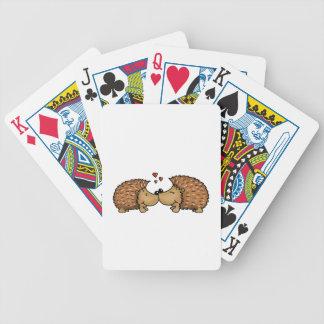 Förälskade igelkottar spelkort