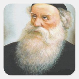 Förändra Rebbe Fyrkantigt Klistermärke
