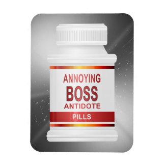 Förargligt chefbegrepp magnet