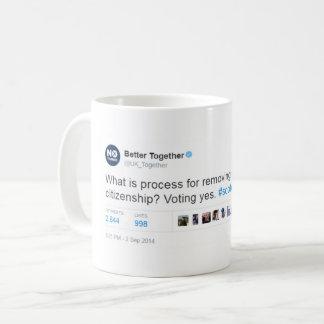Förbättra ljuger tillsammans kaffemugg