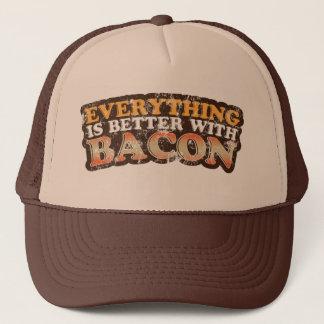 Förbättra med baconhatten truckerkeps