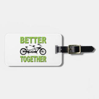 Förbättra tillsammans bagagebricka