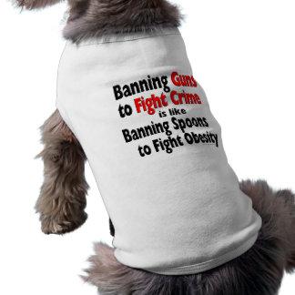 Förbjuda vapen för att slåss brott… husdjurströja