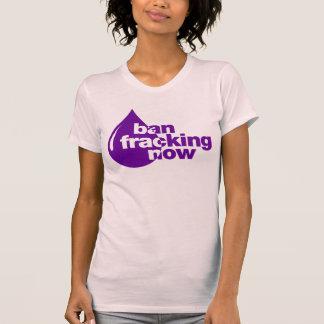 Förbud Fracking nu Tee Shirt