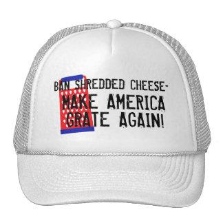 Förbud strimlad trumf för ost-Amerika spisgaller Keps