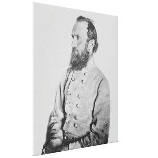 FörbundsmedlemGeneral Thomas J Stonewall Jackson Canvastryck