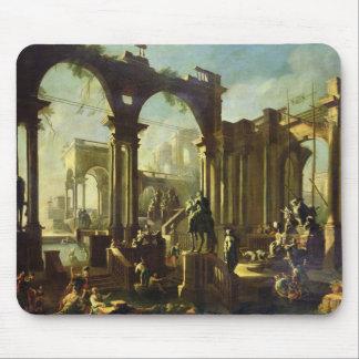 Fördärvar av baden av Caracalla Musmatta
