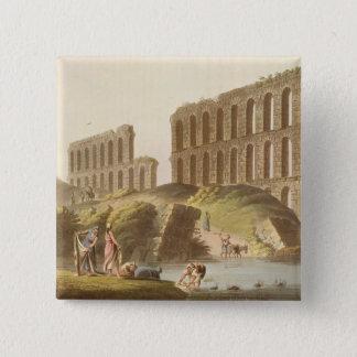 Fördärvar av den storslagna akvedukten av forntida standard kanpp fyrkantig 5.1 cm