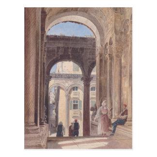 Fördärvar av Diocletian på Spalato av Rudolf von Vykort