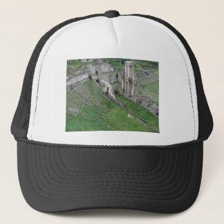 Fördärvar av en antik roman amphitheater keps
